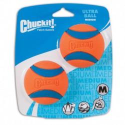 CHUCK IT! Balle Ultra Moyenne Paquet de 2 Compatib CHUCK IT! Toys