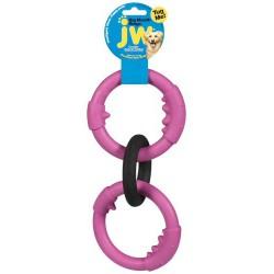 JW Caoutchouc Naturel Anneaux Big Mouth Triple P JW PET PRODUCTS Toys