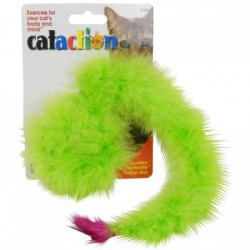 JW Cataction Boa Featherlite Squeaky avec Herbe à Chat