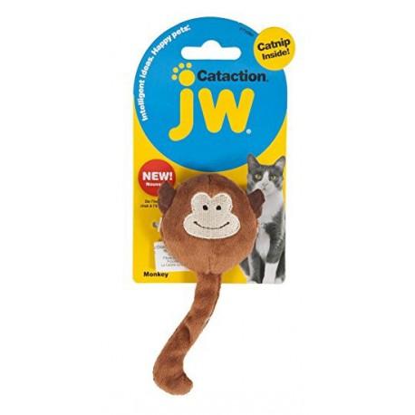 JW Cataction Jouet Pluche pour Chat (Herbe à Chat) - Singe