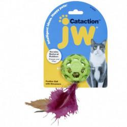 JW Cataction Balle à Plumes avec Cloche Cataction