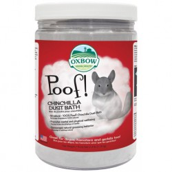 OXBOW RONGEUR POOF BAIN POUDRE CHINCHILLA 2.5LBS