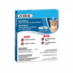 Zodiac Flea/Tick Breakaway Collar Cat/Kitten