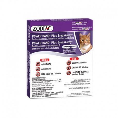 Zodiac Powerband Plus B/A Collar Cat/Kitten