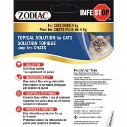Zodiac Infestop Solution Topique Contre les Puces pour Chats