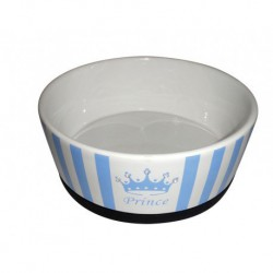 """PS """"Prince"""" Ceramic Dog Bowl 7in"""