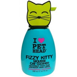 6OZ FIZZY KITTY NETTOYEUR MOUSSE CHAT