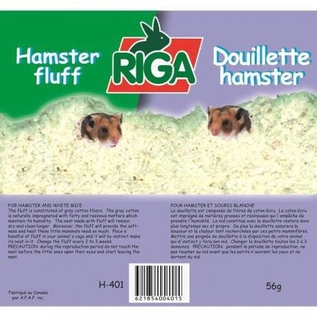 RIGA DOUILLETTE POUR NID HAMSTER 56g RIGA Accessoires Divers