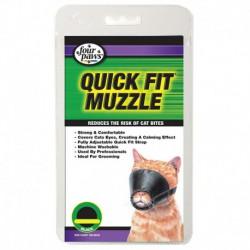 FP Quick Fit Cat Muzzle Md FOUR PAWS Laisses Et Colliers