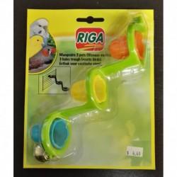 RIGA FEEDER 3 BOWLS