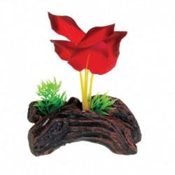 UT Mini Log w/Blood Red Lily