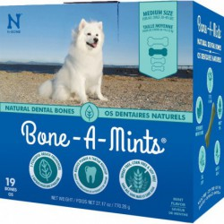 BONE-A-MINTS EMPTY DISPLAY CAN CONTAINT 12 BAGS