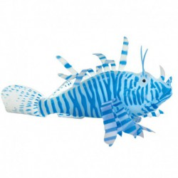 UT Action Lionfish Blue