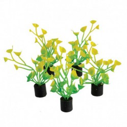 UT 5Pk Mini Plant Yellow/Green