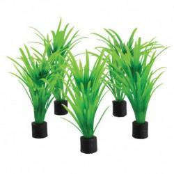 UT 5Pk Mini Plant Green Tall Grass