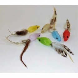 MOUSE WITH FEATHER, 60/TUBE
