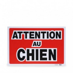 WARNING SIGN Attention au chien