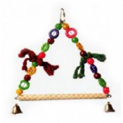 BEAKS! Plastic Hanging Triangle Swing 10in