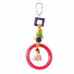 BEAKS! Plastic Hanging Ring/Bell Toy  6.5in