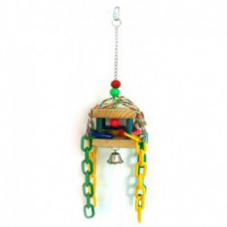 BEAKS! Hanging Dome Chain Toy 15in