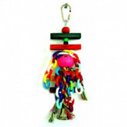 BEAKS! Plastic Hanging Variety Chain Bell 13in