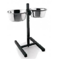 VM GABO DOG/CAT DOUBLE BOWL ADJUSTABLE SUPPORT / FORM T -
