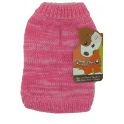 DQ Marled Pink Sweater - 18in