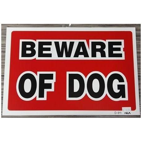 PANCARTE Beware of dog