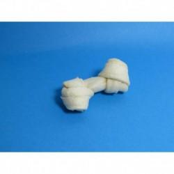Cuir-Mini os blanc noués 2 à 2 1/2