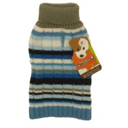 DQ Blue stripes Sweater - 10in