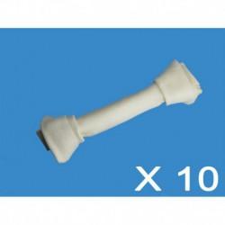Cuir-Os blanc noués 9 à 10 (10 unités)