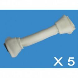 Cuir-Os blanc noués 14 à 15 (5 unités)