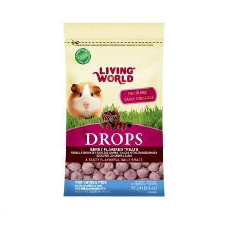 Régals - Drops - LW Cobayes (Baies)75G-V LIVING WORLD Friandises