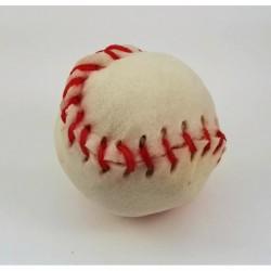 Cuir-Baseball blanc 3 1/4 (Lacets couleur)
