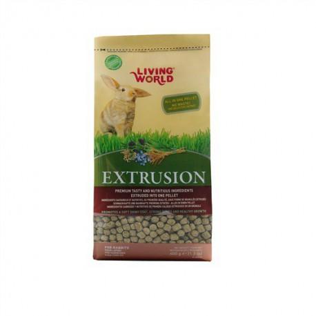 LW Aliments Extrudés Pour Lapins, 600G-V LIVING WORLD Nourritures
