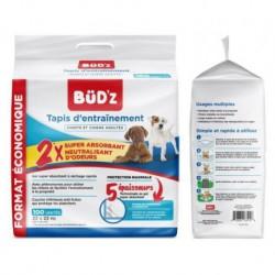 BUD Z CHIEN TAPIS D ENTRAINEMENT 22 X22 (56X56cm) BUDZ Maintenance Products
