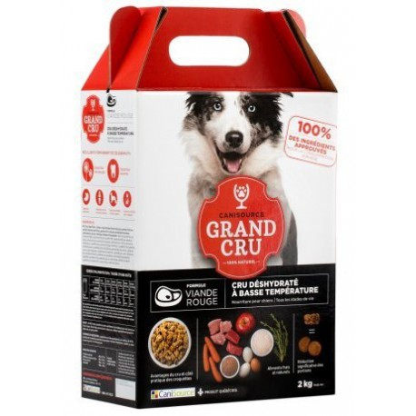 CANISOURCE FOOD, DOG RED MEAT 2 kg