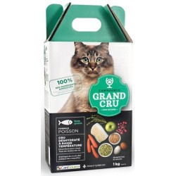 CANISOURCE GRAND CRU CHAT POISSON SANS GRAINS 1KG
