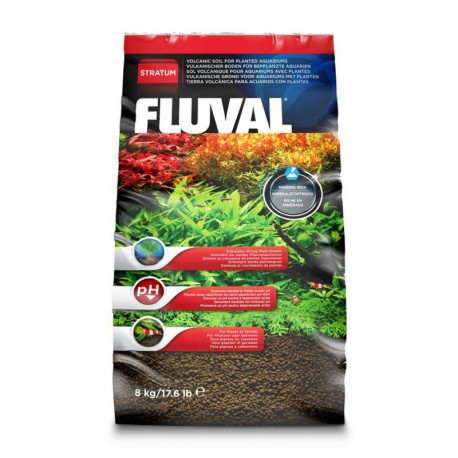 Substrat StratumFL plantes/crevet.,8kg-V
