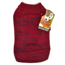 DQ Marled Red Sweater - 16in