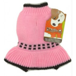 DQ Pink Squares Sweater - 6in