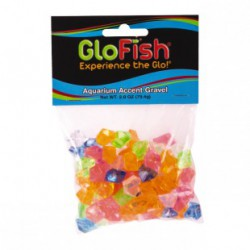 GloFish Gravel Accent (Multicolored Gems)