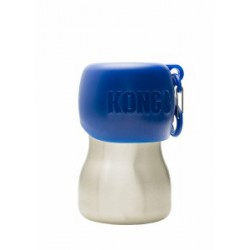 KONG H2O Dog Bottle and Bowl Blue 9.5 oz