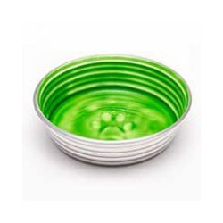 LOVING PETS LE BOL CHIEN/CHAT BOL VERT CHARTREUSE LOVING PET Food And Water Bowls