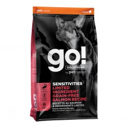 PETCUREAN GO! CHIEN SENSITIVITIES LID SANS GRAINS SAUMON 22