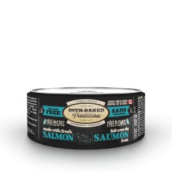 Pâté chat SAUMON adulte 156 g (5.5 oz)