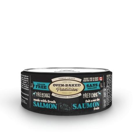 Pâté chien SAUMON adulte 156 g (5.5 oz)