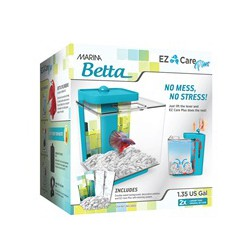 MA EZ Care PLUS Betta Aqurm, 4.9L, Blu