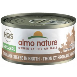 ALMO NATURE CHAT THON/FROMAGE 70GR