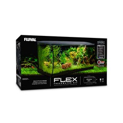 Aquar. Flex FL 123L (32,5USgal), noir